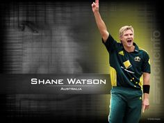 Record under pressure - ordinary. Overall - ordinary. Being a Channel 9 favourite is all that's keeping him in the Australian team. Shane Watson, World Cricket, Batting Average, Famous Sports, Sports Stars, Under Pressure, Athlete, Australia