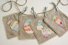 Easter garland! by nanaCompany, via Flickr