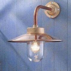 quay light 90 brink licht l012w43kh koperen verlichting veranda verlichting buitenverlichting