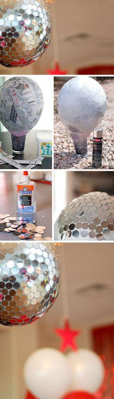 Disco Ball Pinata   Click Pic for 21 DIY Graduation Party Ideas for High School   DIY College Graduation Decorations Ideas