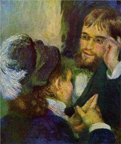 Conversation. Pierre-Auguste Renoir (1841-1919).