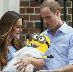 I want one of these - a Minion not a baby!