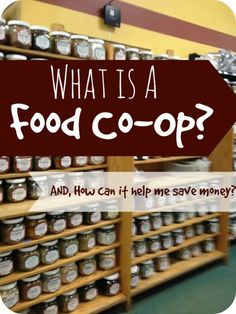 Have you ever wondered what a Food co-op is? Here is a post that explains just how this different way of shopping can help you save hundreds a year!