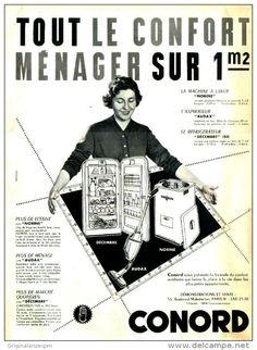 Original-Anzeige / Publicité 1957 - (en français) CONORD -  ca. 240 x 320 mm
