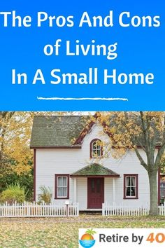 The Pros and Cons of living in a smaller home. #frugal #tinyhome #invest #FIRE Sleep On The Floor, Engineered Wood Floors, The Right Stuff, We Can Do It, Early Retirement, Run Around, Commercial Real Estate, Best Investments, Big Houses