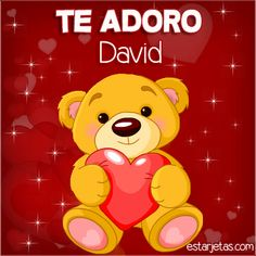 Te Adoro David