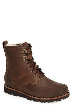 UGG® Australia  Hannen  Plain Toe Boot (Men)  c5f0022f7d388
