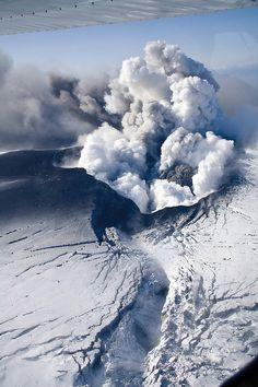 2010 eruptions of Eyjafjallajokull volcano, Iceland.