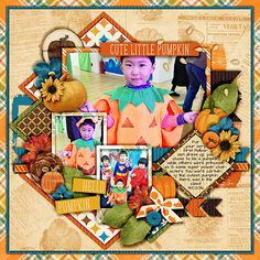 This Autumn by Digital Scrapbook Ingredients is a beautiful collection that has everything you need to document all your beautiful Fall memories! From trips to the pumpkin patch, a fun day out at the orchard, forest walks to glorious Autumn days and everything in between!
