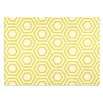 Great graphic rug that @emilyhenderson used on #SecretsofaStylist. Would be a disaster with kids, but I still love.