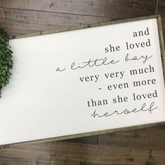 Stunning nursery decor by RElovedLumber! The Giving Tree Quote Giving Tree Quotes, The Giving Tree, Tree Wall Decor, Tree Wall Art, Fathersday Crafts, Airplane Nursery, Mother Son Dance, Barn Wood Projects, Barn Wood Signs