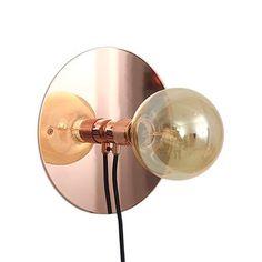 E27 Wall Light - Copper Ø 250