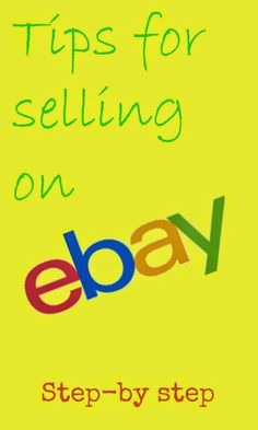 Tips for Listing and selling on eBay- great way to make money