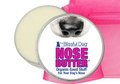 Dry DOG Nose Treatment Organic NOSE BUTTER® The Blissful Dog