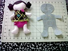 rag doll sewing tutorial