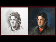 http://www.paintingportraittips.com Ben Lustenhouwer shows how he draws and paints a portrait from life. A short demonstration how to paint a portrait.