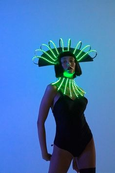 Repin this idea of a custom made LED festival costume. Contact to order: Sales@etereshop.com | Check out more at ETEREshop.com | led festival | sound reactive mask | led light up costumes | glow in the dark costumes for adults | led costume how to make | sound reactive costume | led costume fashion | led halloween costume | sound reactive clothes | light up black panther costume | glow costumes | light up costume etsy | daft punk costume | led rave burning man | rave led music festivals Daft Punk Costumes, Dark Costumes, Light Up Costumes, Halloween Costumes, Light Up Dresses, Light Up Clothes, Glow Costume, Black Panther Costume, Burning Man Outfits