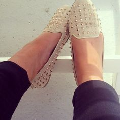 Studded Loafers - Why aren't you in my life?