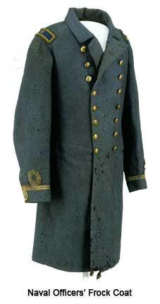 Frock coat of Lt. Robert D. Minor
