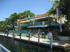 Sharky's on the Marina, restaurant in Key Largo - super chill loud fun place with good beer. we walked to it along the marina from our hotel.