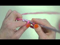 Piilosilmukka | Virkkauksen perussilmukat - YouTube Opi, Youtube, Youtubers, Youtube Movies