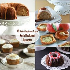 15 Desserts to Make Ahead and Freeze for Rosh Hashanah