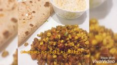 Sprouts are protein packed, healthy and nutritious, make a quick meal out of sprouts and enjoy in breakfast or lunch or dinner! Its quick and easy to make! Protein Pack, Chana Masala, Quick Meals, Sprouts, Desi, Spices, Lunch, Make It Yourself, Dinner