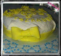 Zitronenkuchen mit Butterblumen