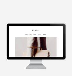 Minimalistic Blogger and Wordpress Themes by Blog Milk Shop