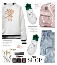 """""""sporty Yoins"""" by yexyka ❤ liked on Polyvore featuring Wrap, iittala, Bobbi Brown Cosmetics, Wander Beauty, yoins, yoinscollection and loveyoins"""