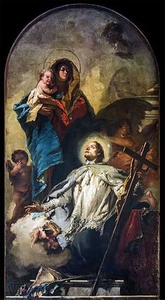 San Polo G. Tiepolo The Virgin appears to St John of Nepomuk