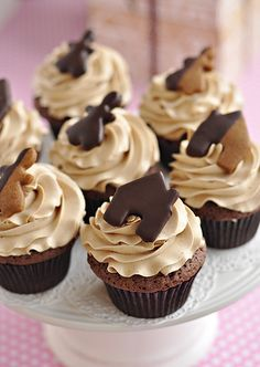 Double Chocolate Gingerbread Cupcakes 2