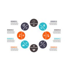 Creative concept for infographic vector Circle Infographic, Infographic Templates, Free Vector Images, Vector Free, Circle Arrow, Circle Diagram, Process Chart, Computer Vector, Vector Online