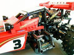 Hotshot 6 by Crash_cramer Weird Cars, Crazy Cars, 123 Photo, Rc Hobbies, Custom Lego, Lego Moc, Lego Technic, Legoland, Lego Creations