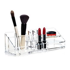 Clear Make-Up Organiser, Clear - Nomess Copenhagen - Nomess Copenhagen - RoyalDesign.fi