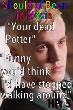 Harry Potter and the Order of the Phoenix  Should of Been in Movie Malfoy Harry Lucius Azkaban  Quibbler Article