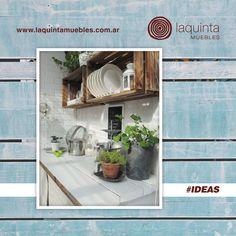 Desde Laquinta queremos compartirte #IDEAS para renovar tus espacios con detalles en madera que podes restaurar y reciclar.