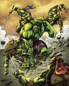 #Hulk #Fan #Art. (Green versus Greens) By: BacchiColorist. [THANK U 4 PINNING!!]