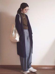 春だから軽やかに♪さらっと羽織れる「ロングカーディガン」の素敵コーディネート集   キナリノ Normcore, Coat, How To Wear, Jackets, Outfits, Image, Style, Fashion, Down Jackets