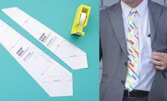 Padrão gravata todos os dias por Dana Willard no diário fêz 6