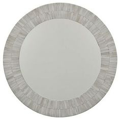 Regina Andrew Round Bone Venner Mirror traditional mirrors