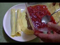 CHUCHEMAN   como hacer crepas-Recetas de cocina