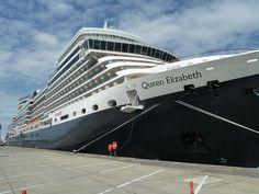 Cunard Queen Elizabeth in Zeebrugge by garybembridge, via Flickr