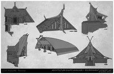 Architecture Shape Language I, Marina Ortega on ArtStation at https://www.artstation.com/artwork/Jgdnm