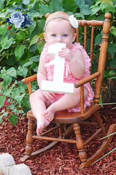 Precious 1 year old photo shoot
