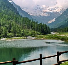 LAGO DELLE FATE  (MACUGNAGA) (Piemonte) - Italy -