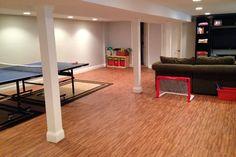 Premium Soft Wood Tiles provide a foam floor mat that has the appearance for light oak or dark oak wood flooring. Each tile interlocks like a puzzle and is soft under foot. Foam Floor Tiles, Foam Flooring, Installing Tile Floor, Soft Tiles, Trade Show Flooring, Workout Room Home, Flooring Options, Basement, Wood