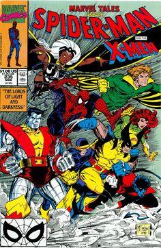 Spiderman & the X-Men