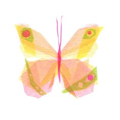 Julia Butterfly - insecte Art Print-  Etsy : TinyFawn