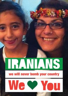 We Love You Iran & Israel